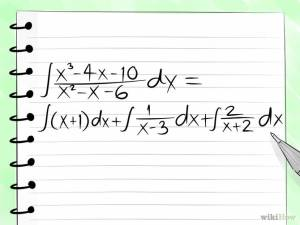 How to integrate by partial fractions?
