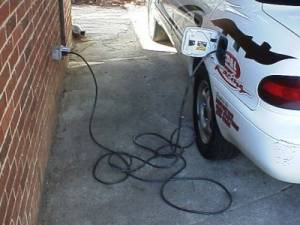How to charge electric car?