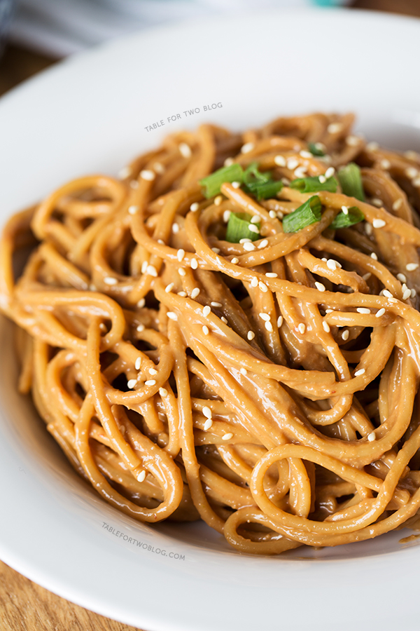 How to make spicy peanut noodles – 8 steps