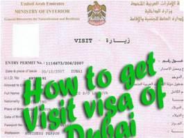 How to get a Dubai visa