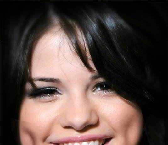 How to make fake dimples : selena gomez