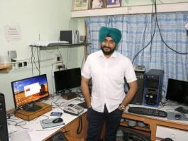 Blogger Parminder Singh