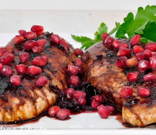 Baked Pomegranate Chicken