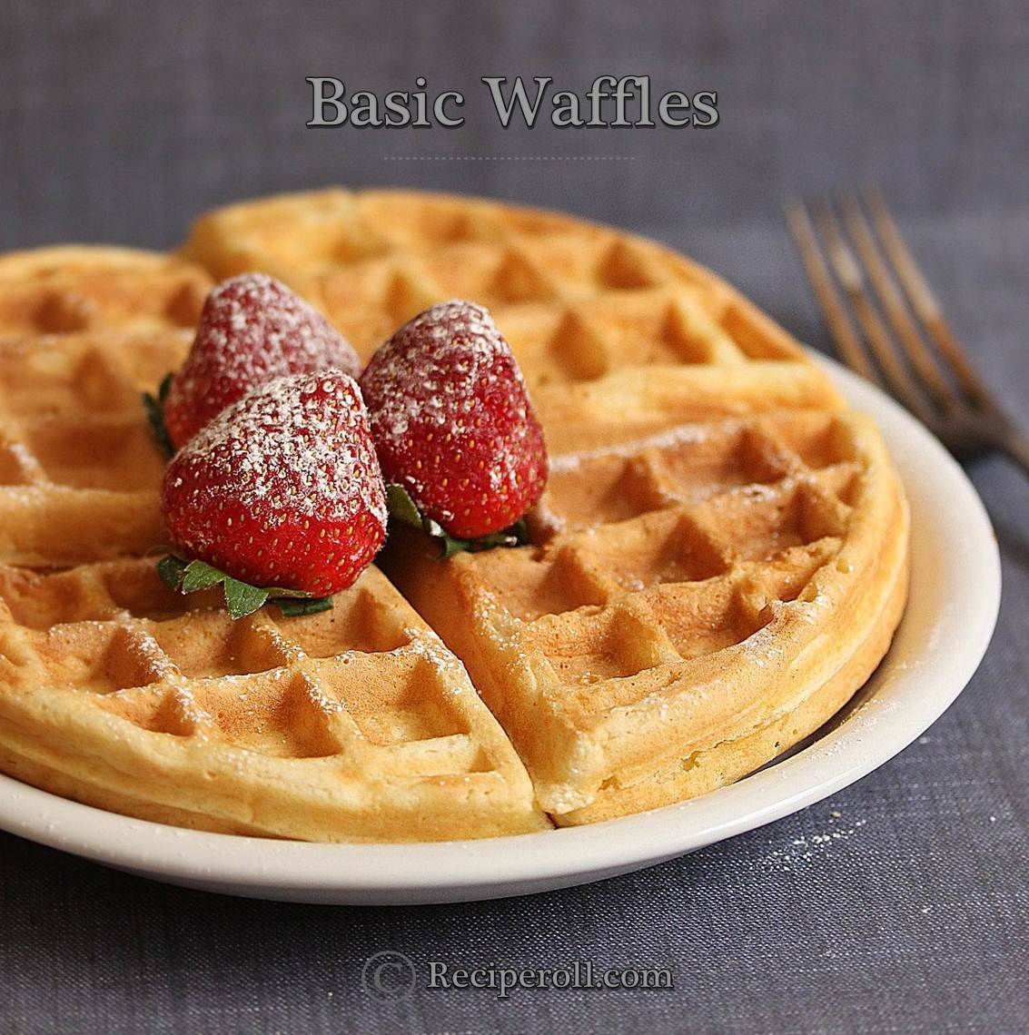 crispy waffles recipe