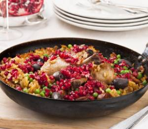 Baked Pomegranate Chicken