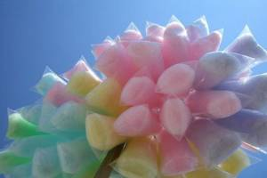 how to make colored sugar for cotton machine