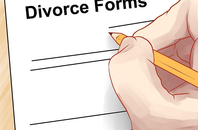 how to begin divorce process