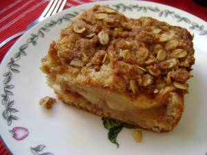 Apple Cinnamon Coffeecake