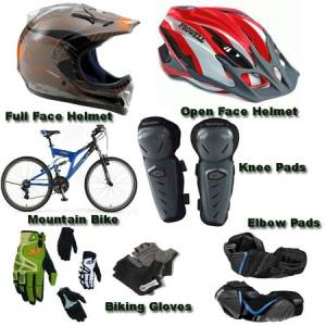 Buy helmet and other safety gears.