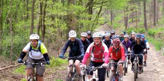 Get yourself a mountain bike.