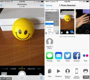 Use AirDrop on your iPhone and iPad to share photos, videos, contacts