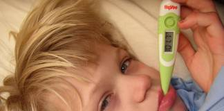 How can I reduce my child's fever without using medicine