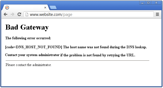 Qué significan los códigos de error en la web