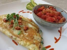 How to Make Omelet Using Duck Eggs
