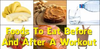 What Foods to Eat After Working Out