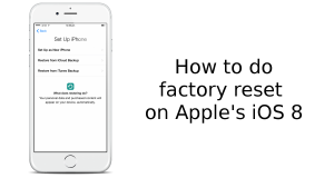 How to Factory Reset Your iPhone 6 and iPhone 6 Plus