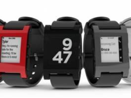 Pebble's new smartwatch