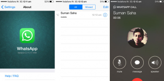 WhatsApp Voice Calls for Apple iPhone