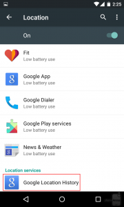How to Organize and View Location History in Your Android Device
