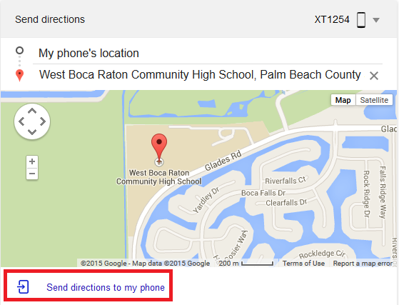 How to Send Directions from a Desktop Google Search to Your Android Smartphone