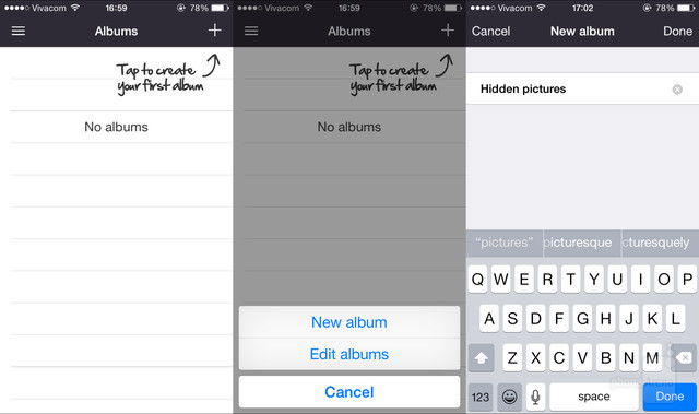 hide photos and videos on your iPhone or iPad