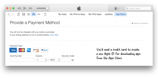 Apple Id Credit Card