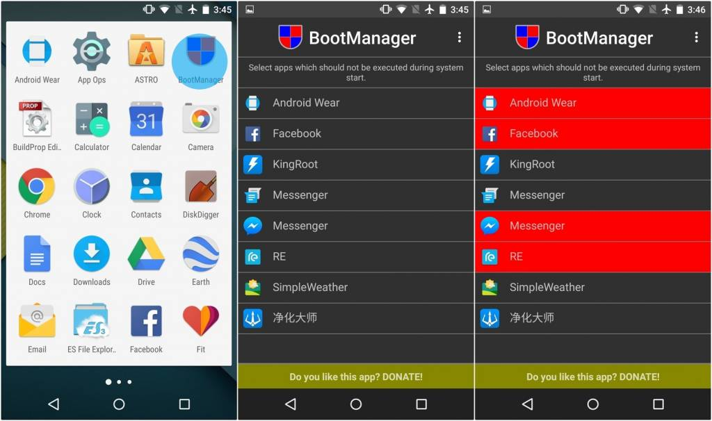 stop android apps from starting on boot