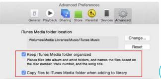 ITunes Library to Another Location
