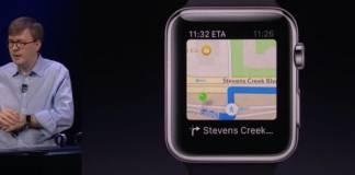 Maps via Apple Watch