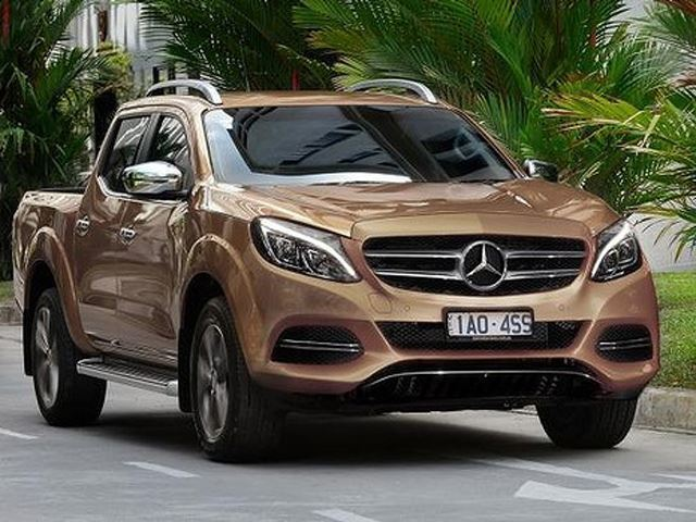 Mercedes benz glt 2019 a pickup truck to suit modernity for Mercedes benz lawsuit