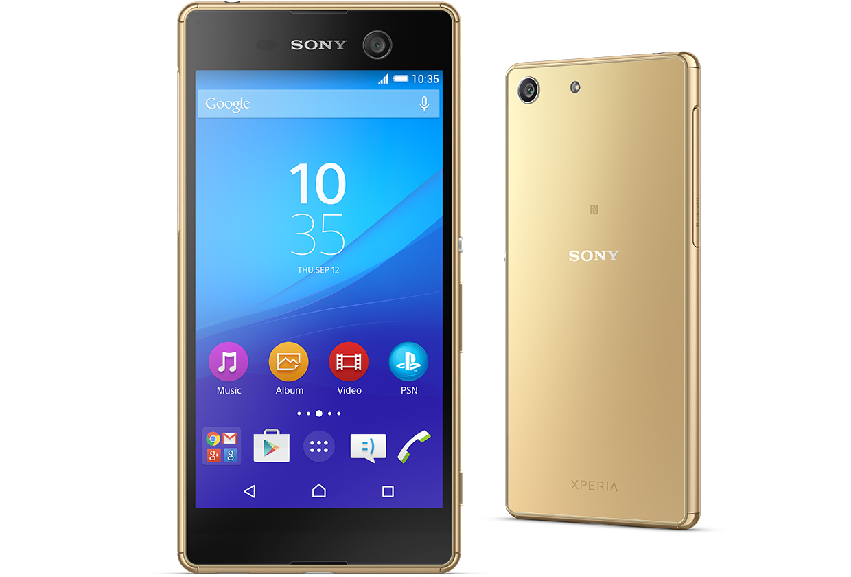 sony xperia m5 waterproof innovation with 21 5mp 13mp