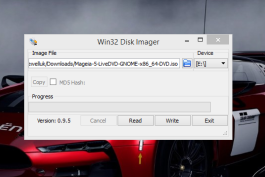 UEFI Bootable Mageia Linux USB Drivein