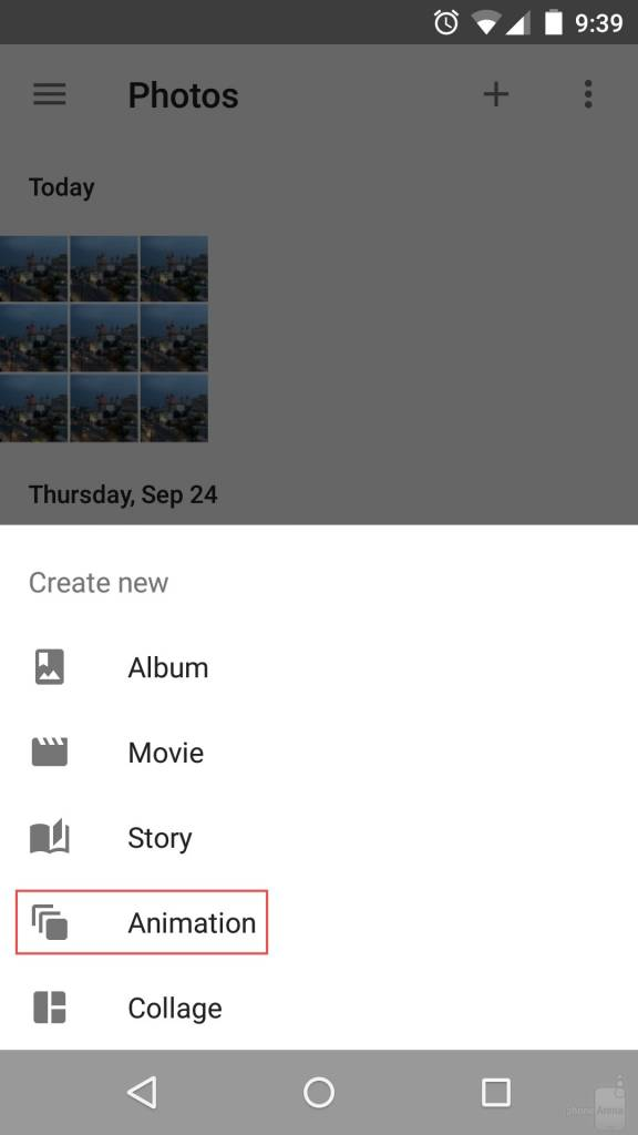 Animations with Google Photos on Your Android Device