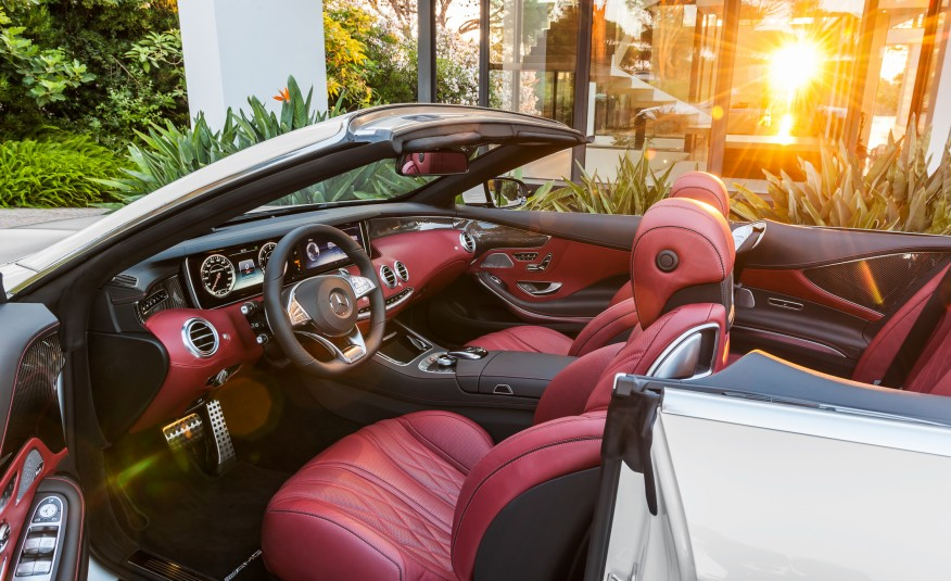 Mercedes Benz S550 2017