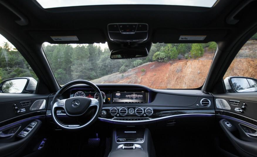 Mercedes Benz S550e 2015