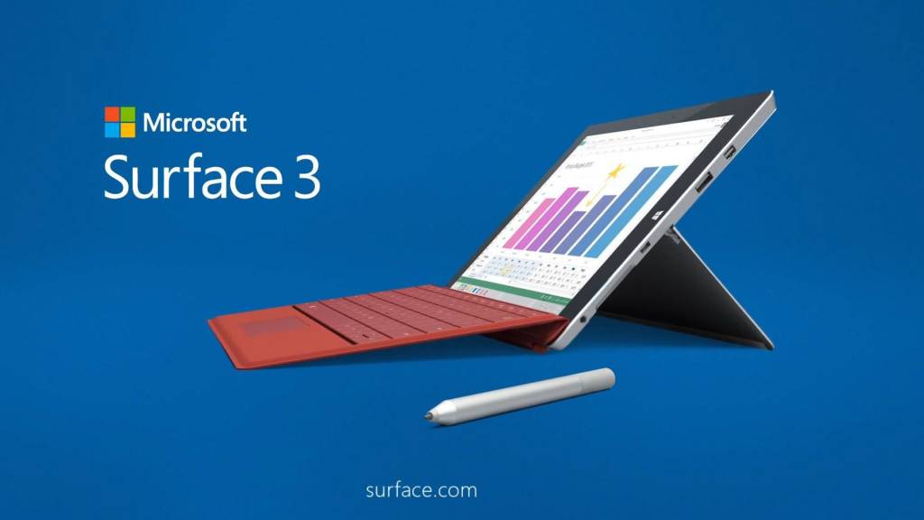 microsoft surface 3 lte variants specifications and price. Black Bedroom Furniture Sets. Home Design Ideas