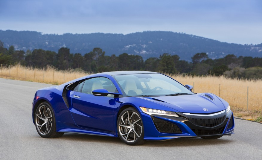 Acura NSX 2017 : Honda Brings Out Its Supercar