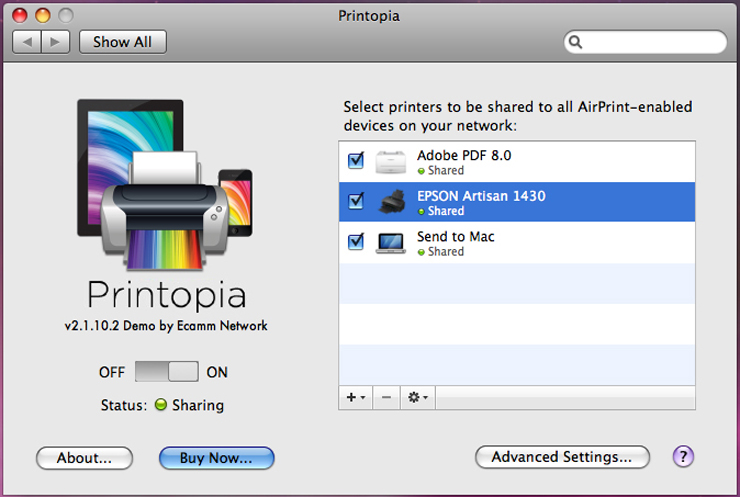 AirPrint Enabled Printer for Your iPad Device