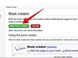 Create Wikipedia E-books