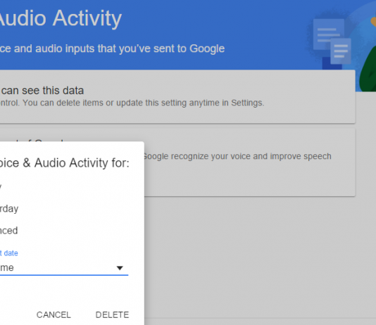Erase Voice Commands You Have Said to Google Now
