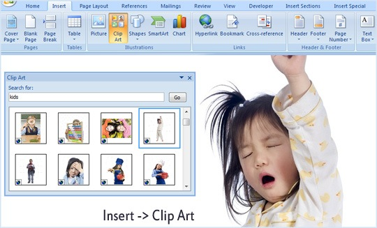 Insert Google Images into your Microsoft Word or PowerPoint Presentations