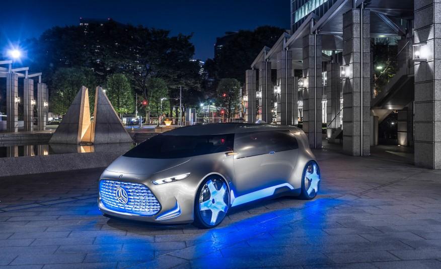 Mercedes Benz Vision Tokyo Concept
