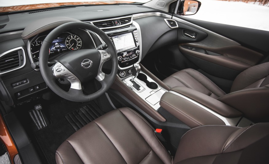 Nissan Murano Platinum AWD 2015 : Great Ergonomics and ...