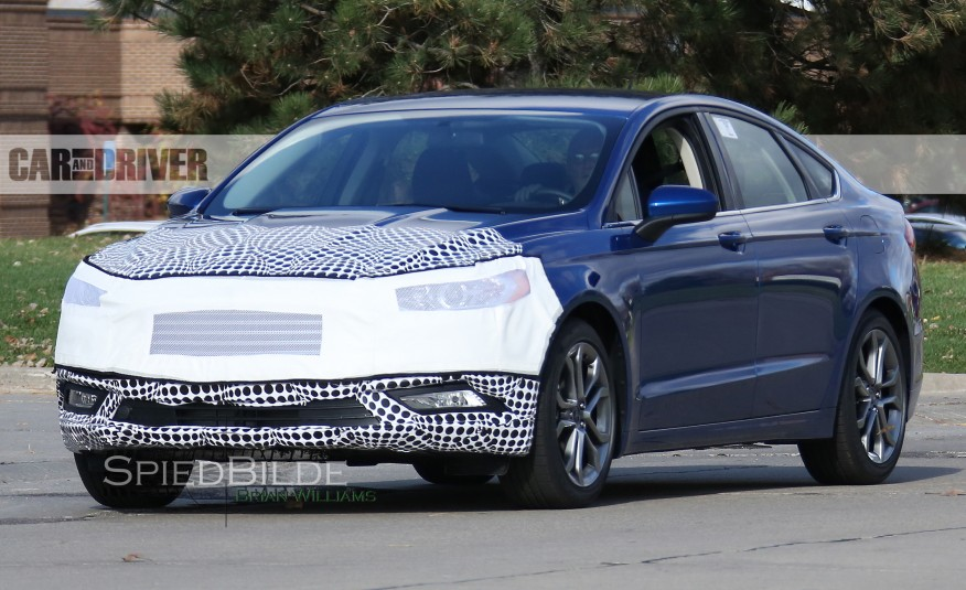 Ford Fusion Spied