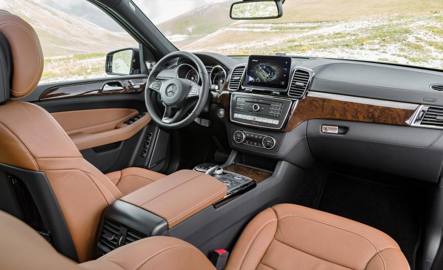 Mercedes Benz GLS class 2017