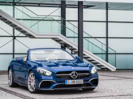 Mercedes Benz SL 2017