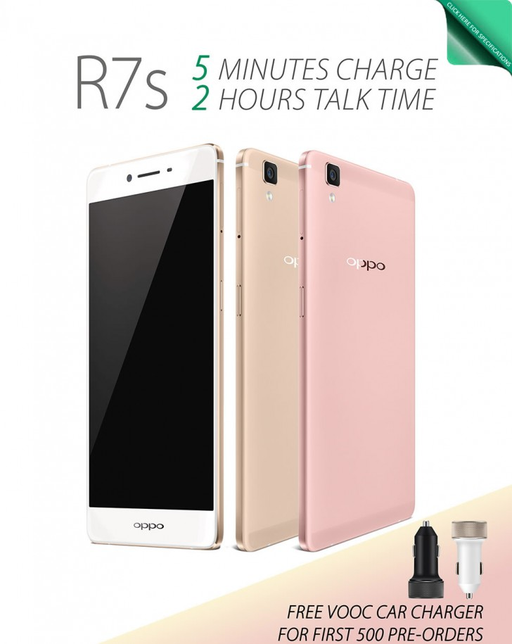 OPPO R7s : The Newest Member of R7 is Finally Here