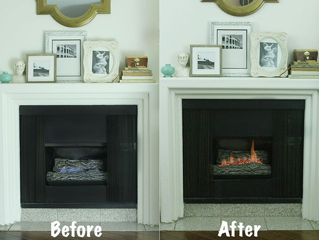 Convert Your Gas Fireplace into a Wood burning Fireplace