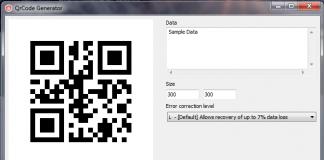 Delphi in Generating QR Codes