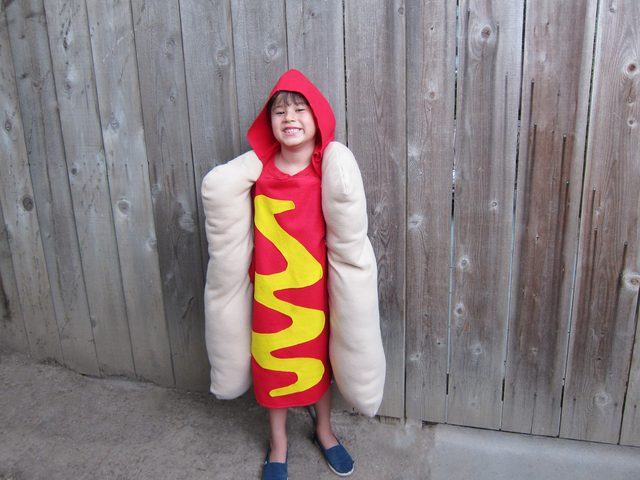 Hot Dog Costume for your Kid